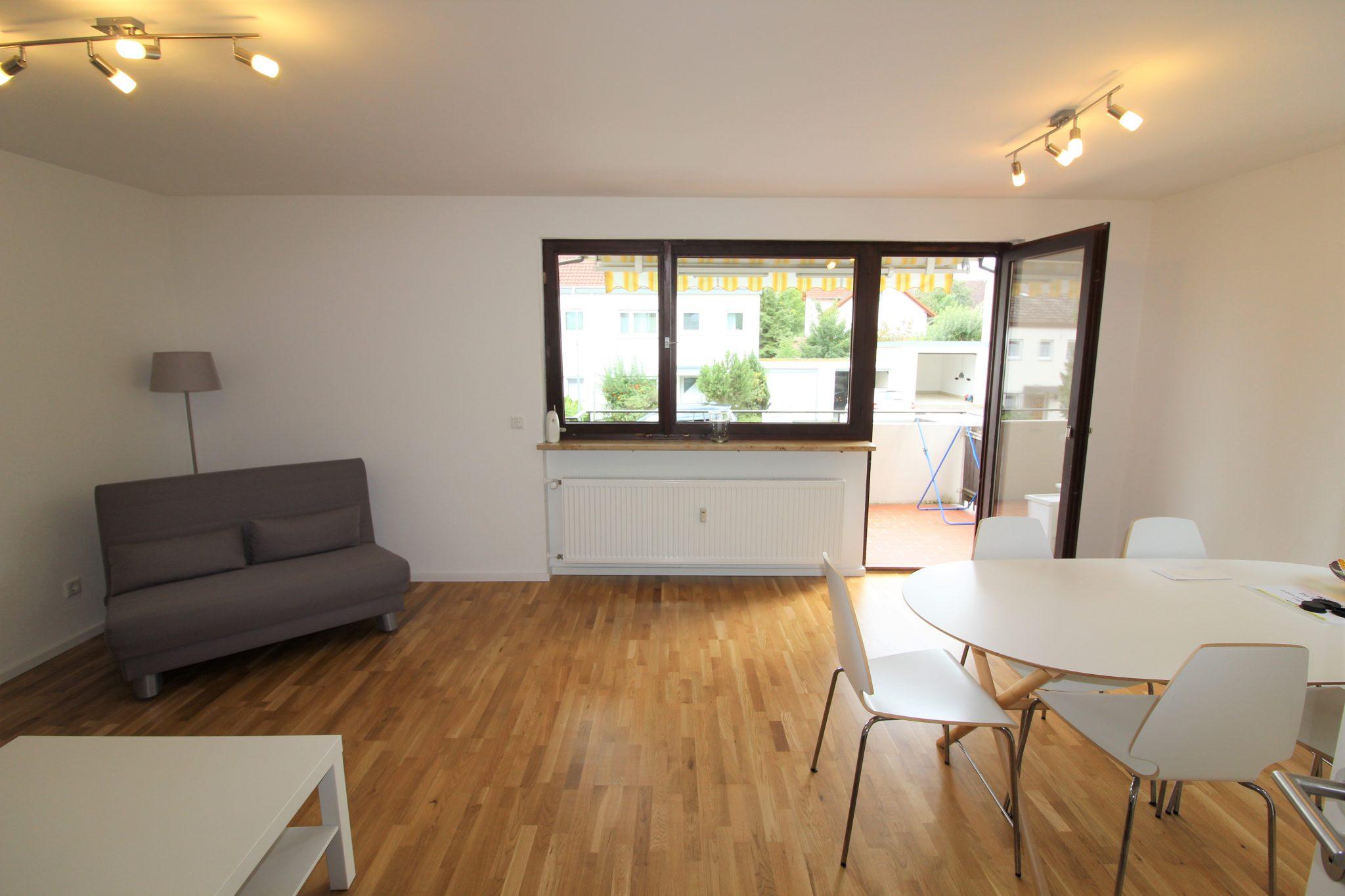 3 Zimmer Hochparterre Wohnung in Konstanz