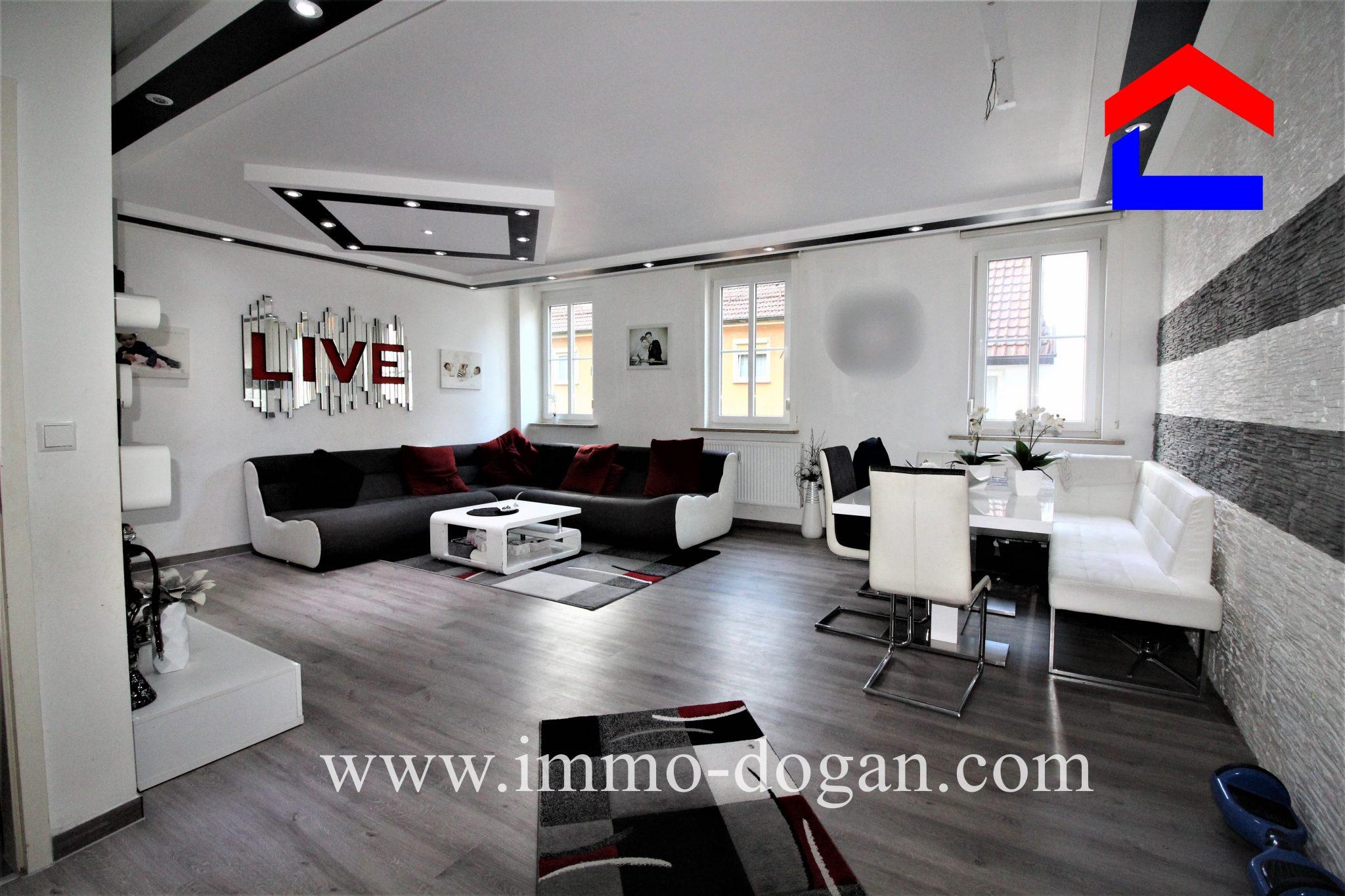 Eine Außergewöhnliche Helle 4,5 Zimmer City Wohnung im Herzen von Tuttlingen