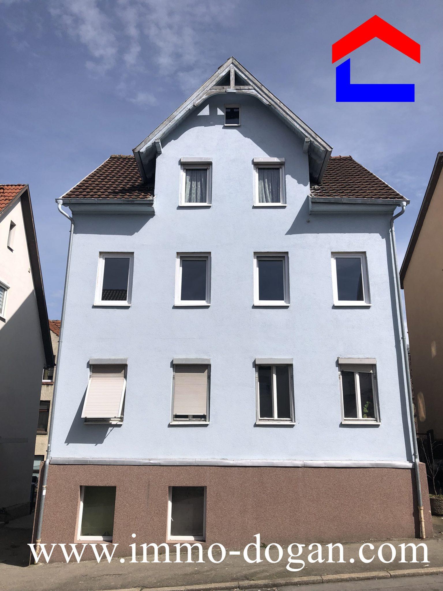 Eine ideale Kapitalanlage ! Freistehendes 4 Familienhaus in Tuttlingen