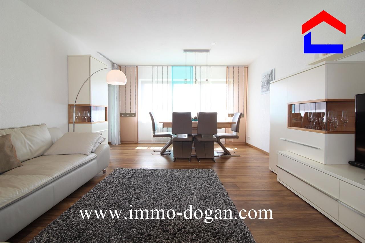 Renovierte 3-Zimmer-Eigentumswohnung mit tollem Blick